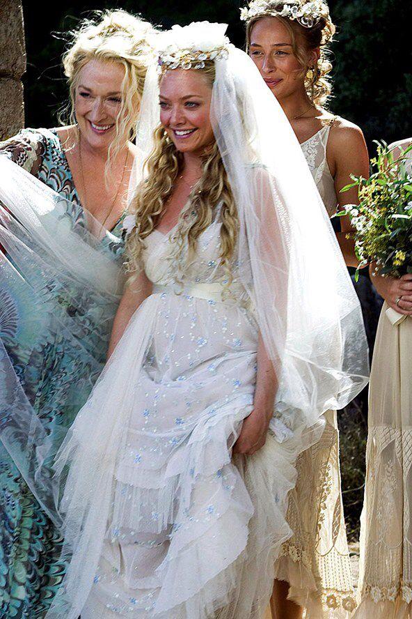Pin By Darth Vader On Mamma Mia Movie Wedding Dresses