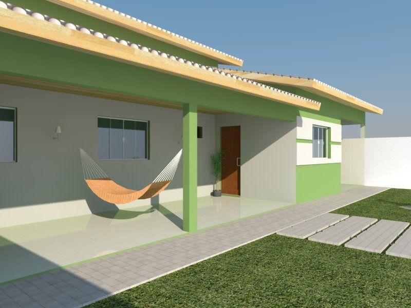 Projeto edicula com 2 quartos, sala e cozinha conjugada ...