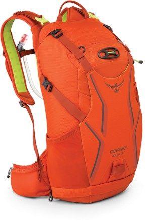 Osprey Zealot 15 Hydration Pack 3 Liters Atomic Orange S M Osprey Backpacks Hydration Pack Osprey Packs