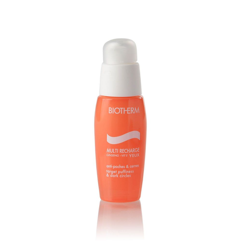 Multi recharge:Target puffiness & dark circles moisturizing and smoothing eye care 15 ml