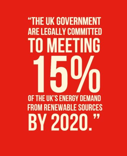 As part of the UK Scotland will be part of an environmentally conscious nation.