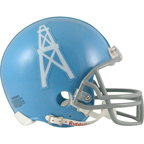 Houston Oilers 1960 To 1962 Mini Throwback Helmet Nfl Futbol Americano Deportes