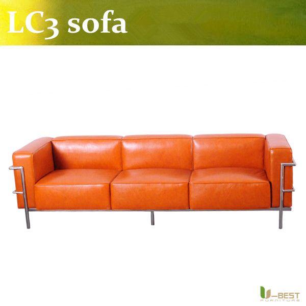 U Best Le Corbusier Sofa Comfortable Leisure Sofa Le Corbusier Lc3 Modern Leather Sofa Modern Leather Sofa Living Furniture Comfortable Sofa
