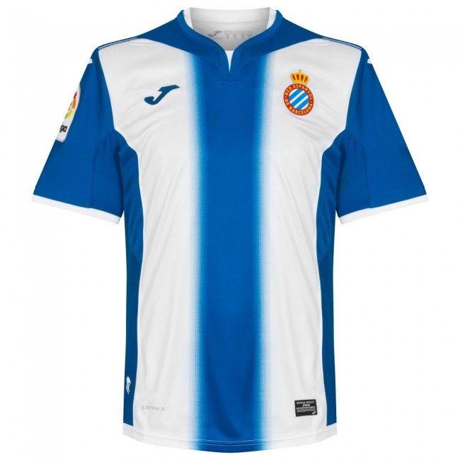 Camiseta del Espanyol Barcelona 2016-2017 Local  espanyol  c884a2cef44