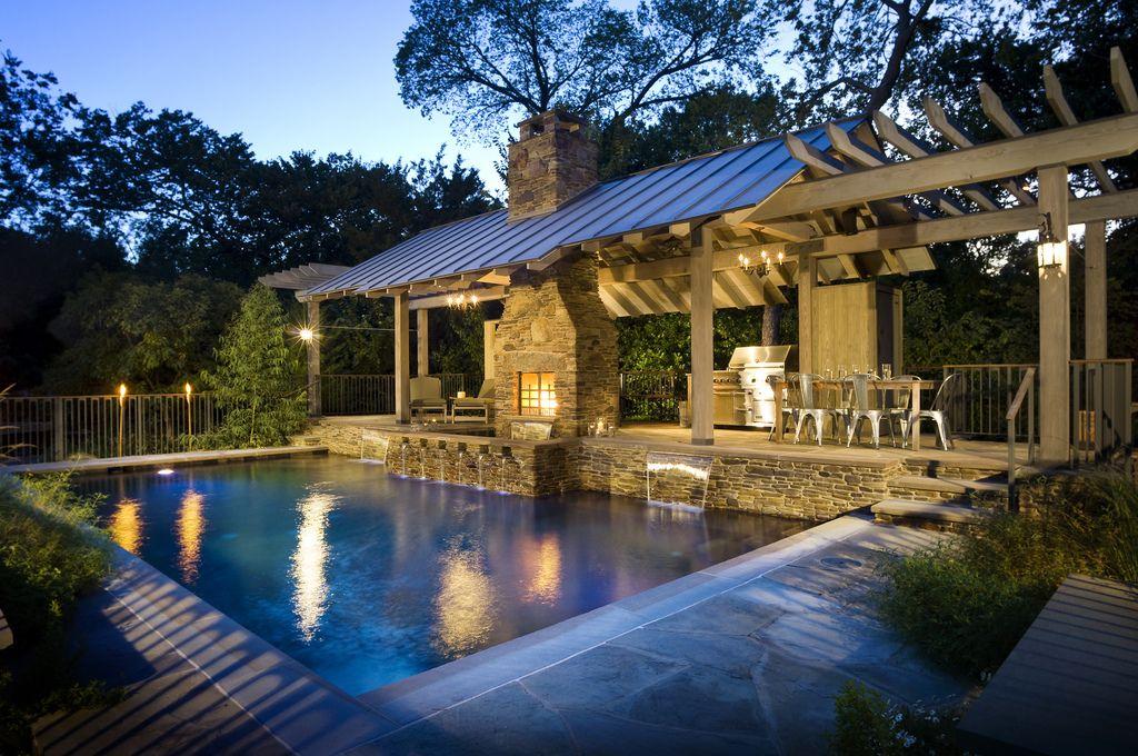Pool Environments C Outdoor Rooms Backyard Pool Swimming Pool Designs