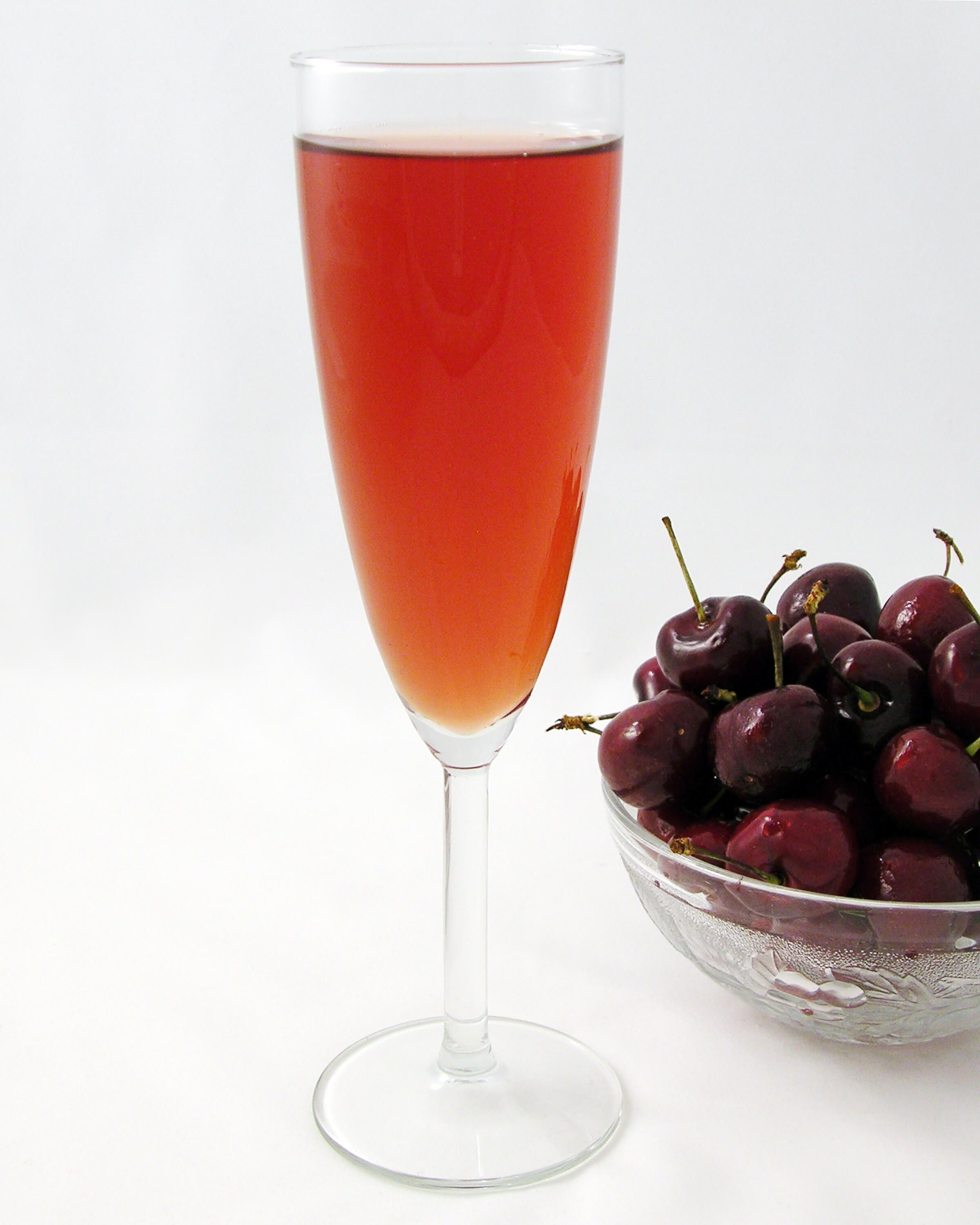 For those 21 and over, this Cherry Bellini recipe is a great brunch accompaniment.