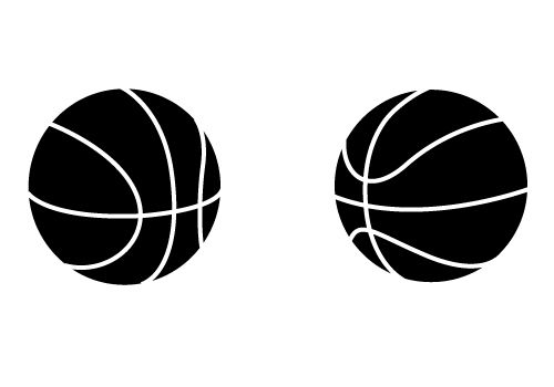 Two Awesome Free Basketball Vectors For Download Now Sv Stock