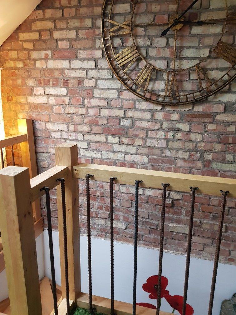 Rebar Balustrade Gt Home Office Gt Loft Craftsman House