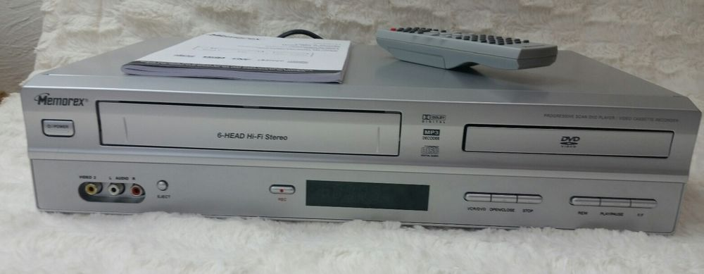 memorex memorex mvd4544 6 head dvd player vhs player recorder rh pinterest nz Memorex MVD4544 Manual Memorex TV
