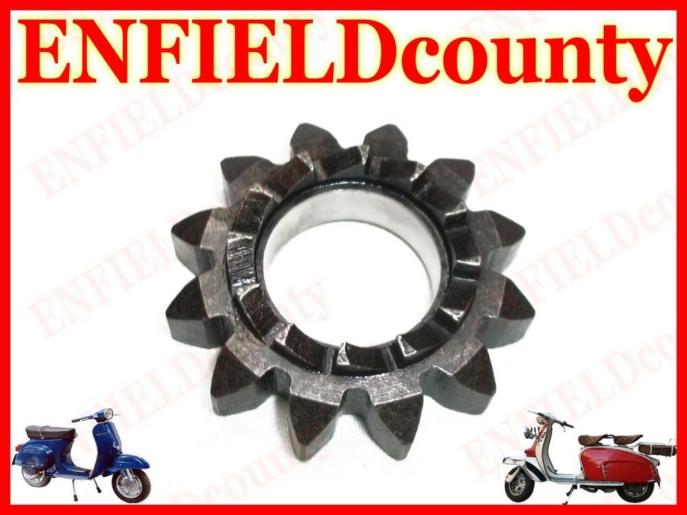 Vespa PX 125 150 200 EFL Chrome Flywheel Cowling Non Electric Starter Motor Type