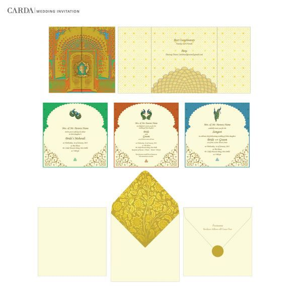 online wedding cards designer wedding cards indian wedding cards - Indian Wedding Cards Online