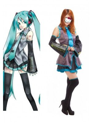 vocaloid hatsune miku halloween costumes cosplay