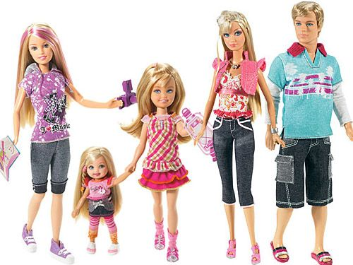 Família da Barbie