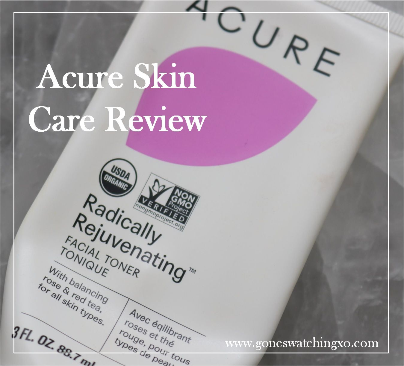 Acure Skin Care Review. Radically Rejuvenating Facial