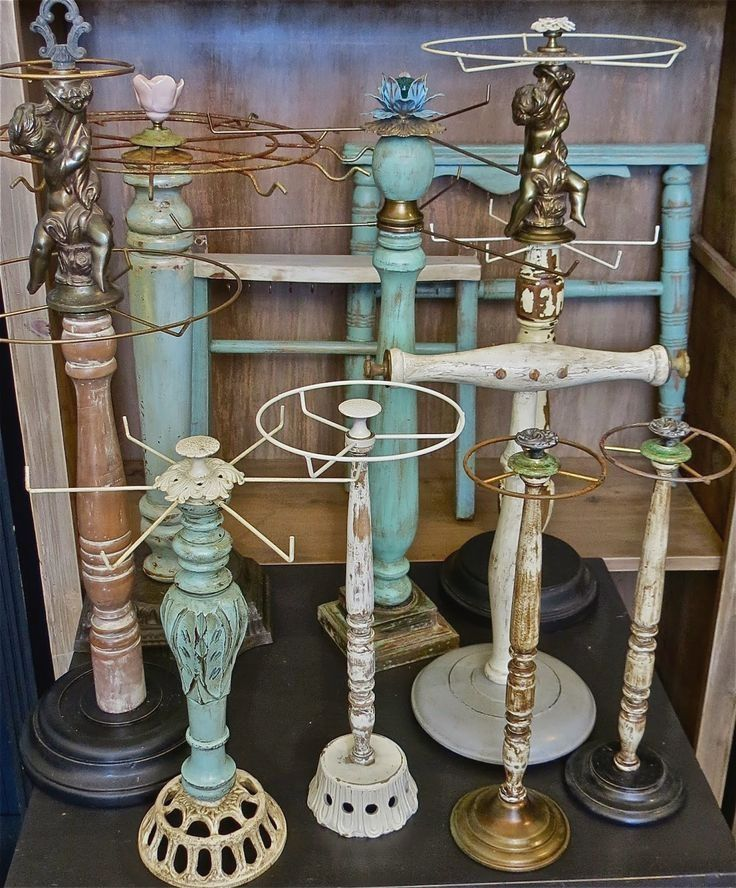 Fun And Funky Necklace Displays ~ Great DIY Ideas For Flea Market Jewelry  Display #jewelrydiy | Jewelry DIY | Pinterest | Necklace Display, Jewellery  ...