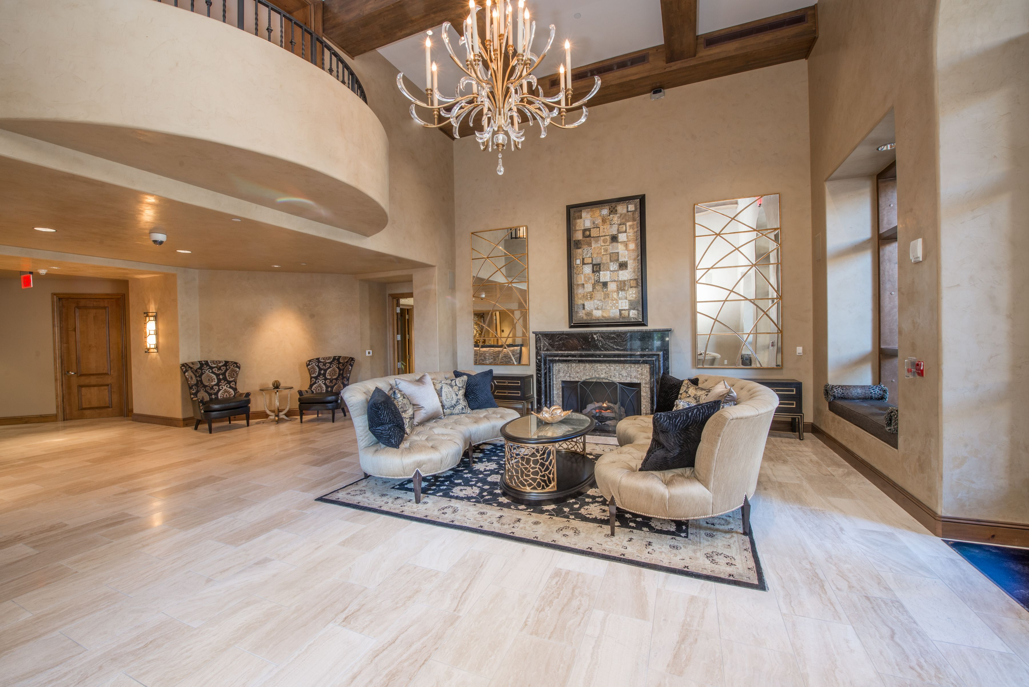 Commercial Projects   Travertine floors, Condominium and Travertine