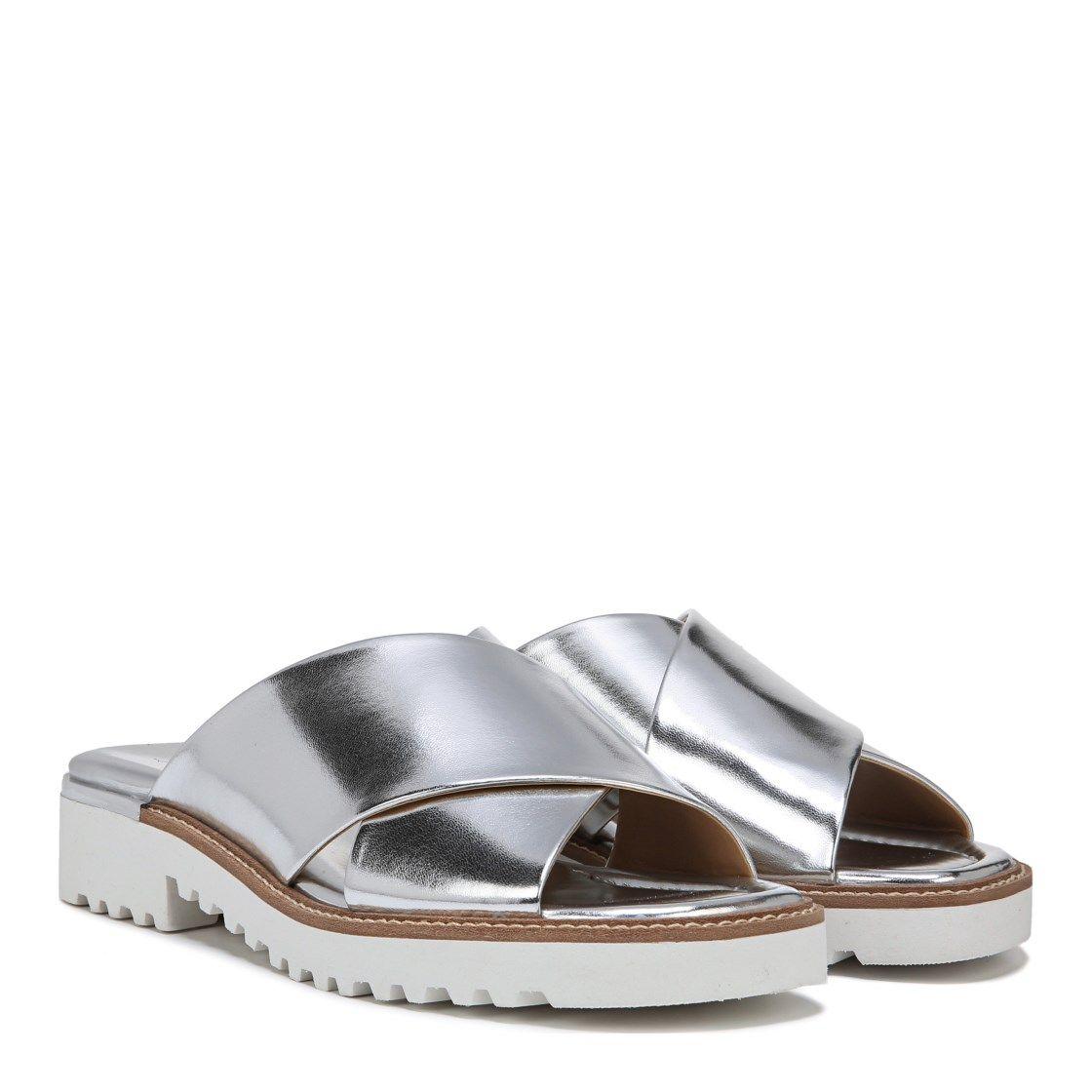 620cdf56e5c9 Franco Sarto Tilden Sandal Silver Metallic