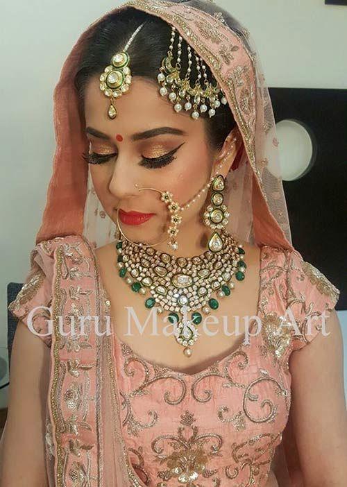 15 Best Bridal Makeup Artists In Delhi Most Famous In 2019 Best Bridal Makeup Bridal Makeup Artist Indian Bridal Makeup