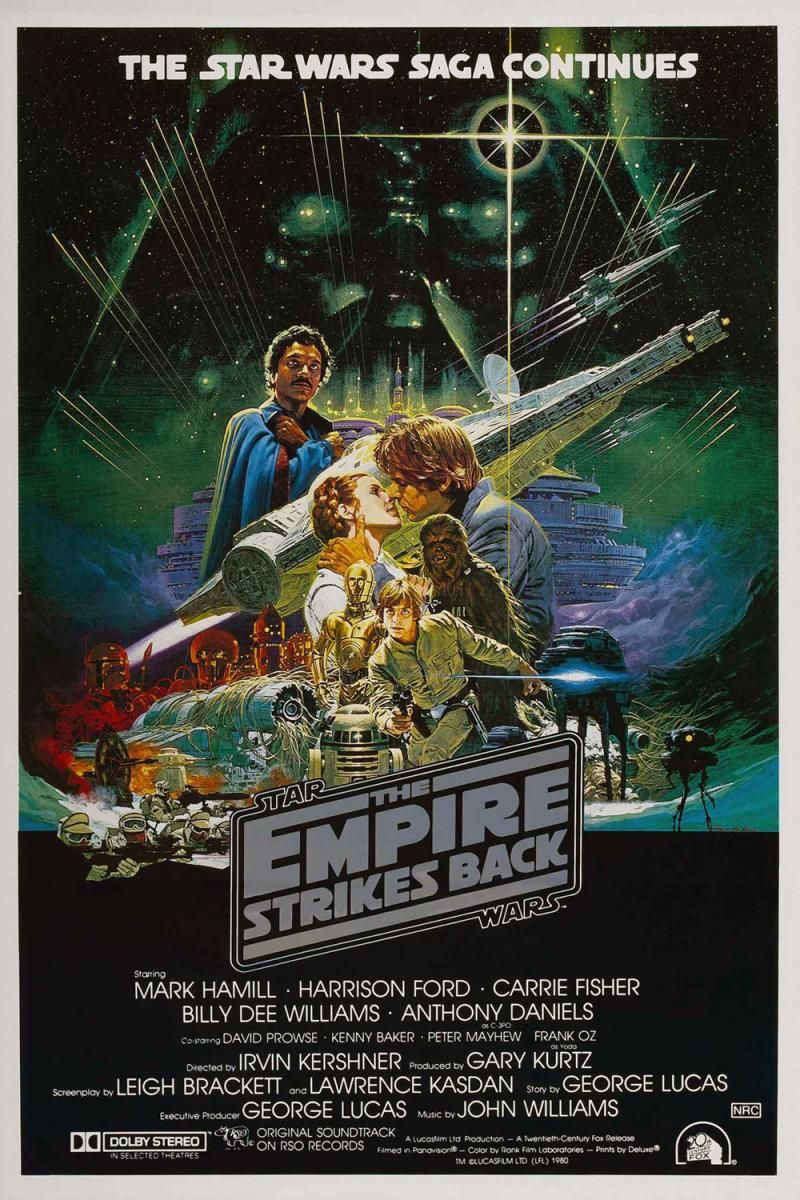 STAR WARS: EPISODE V JAPAN MOVIE POSTER // PRINT THE EMPIRE STRIKES BACK
