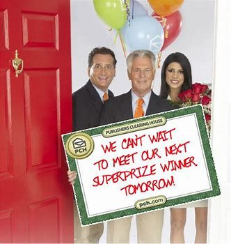 Image result for Publishers Clearing House Winners and Prize Patrol