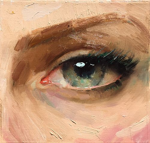 Ignatov's Workshop on Painting Eyes | Pastimes for