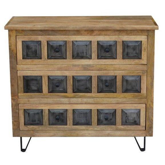 Stylisches Sideboard Aus Mangoholz Ein Möbelstück Mit Charakter