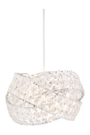 Buy clear venetian easy fit pendant from the next uk online shop transform the ambience of your room with beautiful lamp shades and easy fit shades available in range of finishes aloadofball Image collections