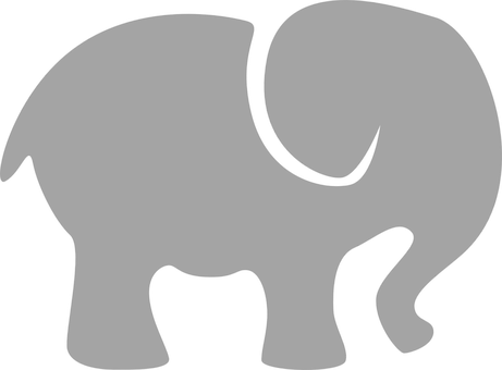 Elephant Gray Silhouette Animal Elephant Silhouette Elephant Clip Art Silhouette Clip Art