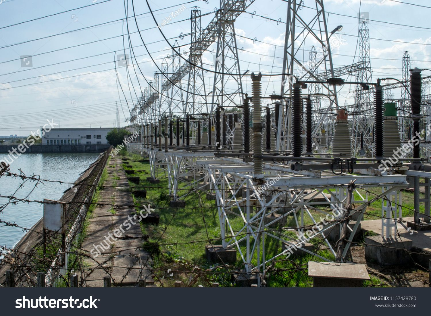 Ð•nvironmental pollution. Hydroelectric power station
