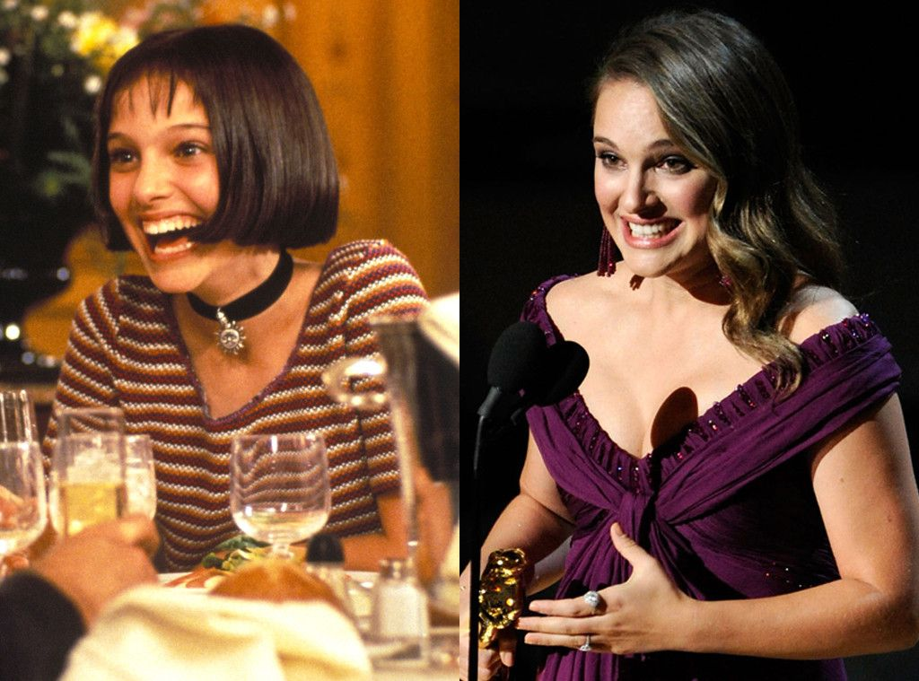 Natalie Portman | The Black Swan star made her big-screen debut at age 12 and has went on to become an award-winning actress, Harvard graduate and mother.
