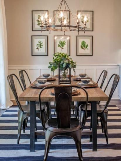 Blog Asian Home Decor Industrial Farmhouse Decor Dining Room