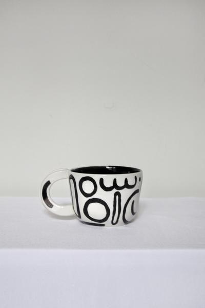 Doodle Mug By Btw Ceramics. Each Mug Features A Different And Unique Doodleu2026