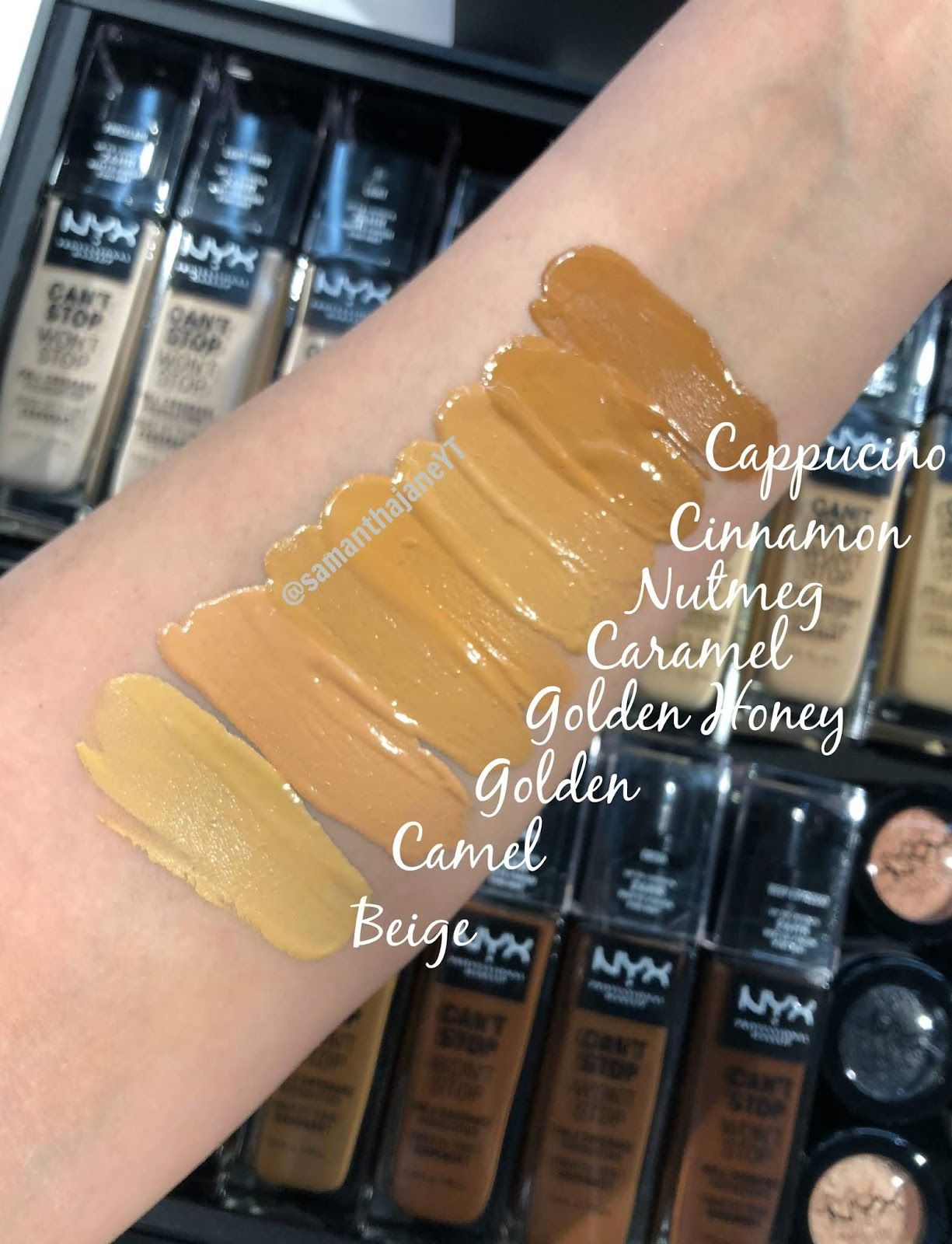 Can't Stop Won't Stop Concealer by NYX Professional Makeup #13