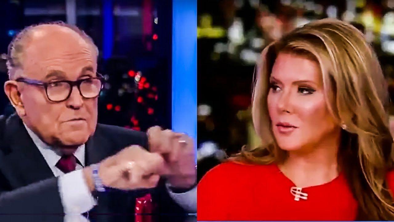 Fox Host Freaked Out By Rudy Giuliani S Bizarre Raving In 2020 Rudy Giuliani The Incredibles Trish Regan