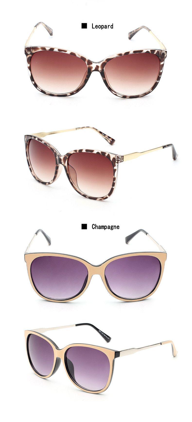 f07e57324bd ELITERA 2017 Luxury Women Sunglasses Fashion Round Ladies Vintage Retro Brand  Designer Oversized Female Sport Sun Glasses Tide
