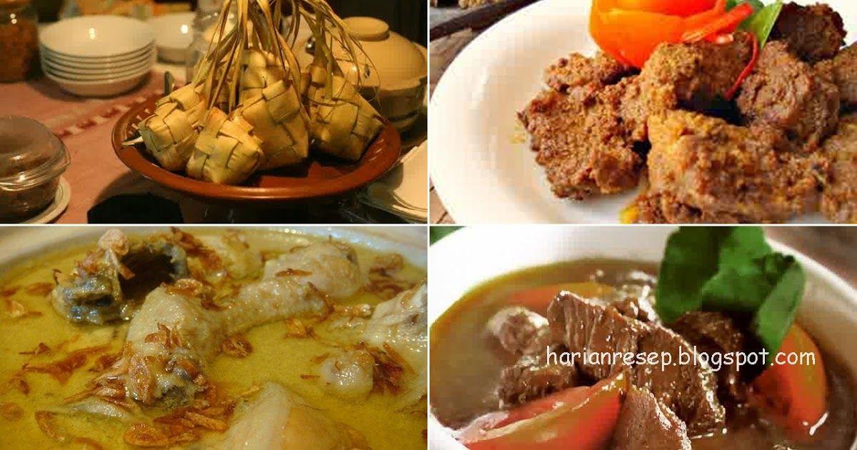 4 Resep Hidangan Lebaran Praktis Terpopuler Dan Cara Membuat Hidangan Lebaran Enak Berisi 4 Resep Menu Masakan Lebaran Idul Fi Resep Masakan Asia Resep Memasak