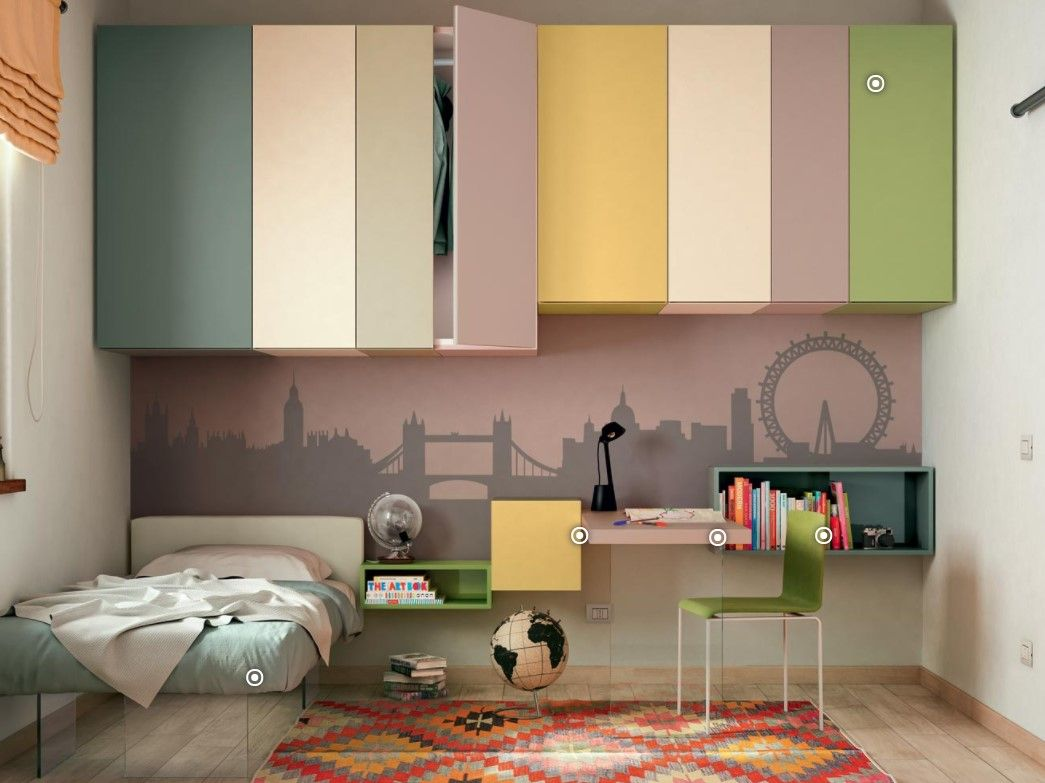 Pin by LLG on KIDS FURNITURE | Wardrobe design bedroom ...