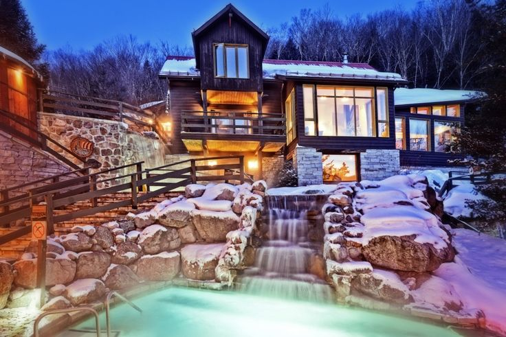 The Experience Mont Tremblant Spa Vacation Winter Weekend Getaways