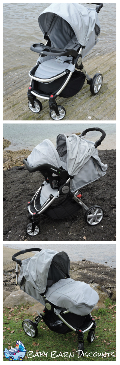 Steelcraft Agile Plus 2015 Travel System Stroller