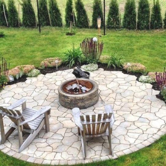 22 Feuerstelle Designs Im Garten Den Patio Bereich Gemütlich Gestalten