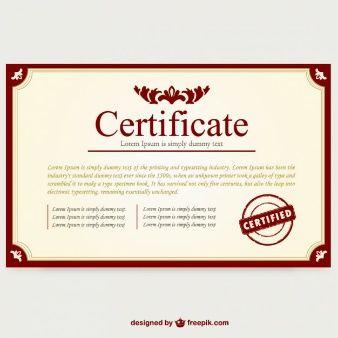 Certificate template layout certificate design pinterest certificate template layout yadclub Choice Image