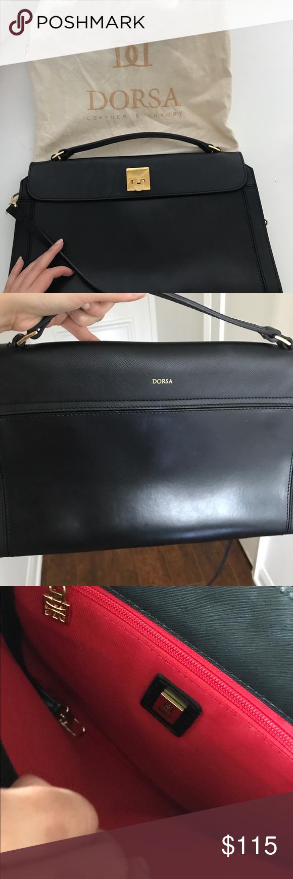 dorsa leather bag