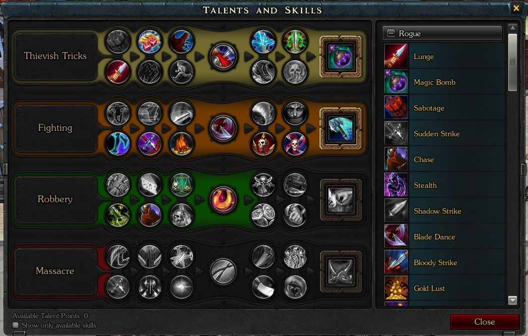 Royal Quest Thief Build By Pucukpucuk Com Imagens Sabotage