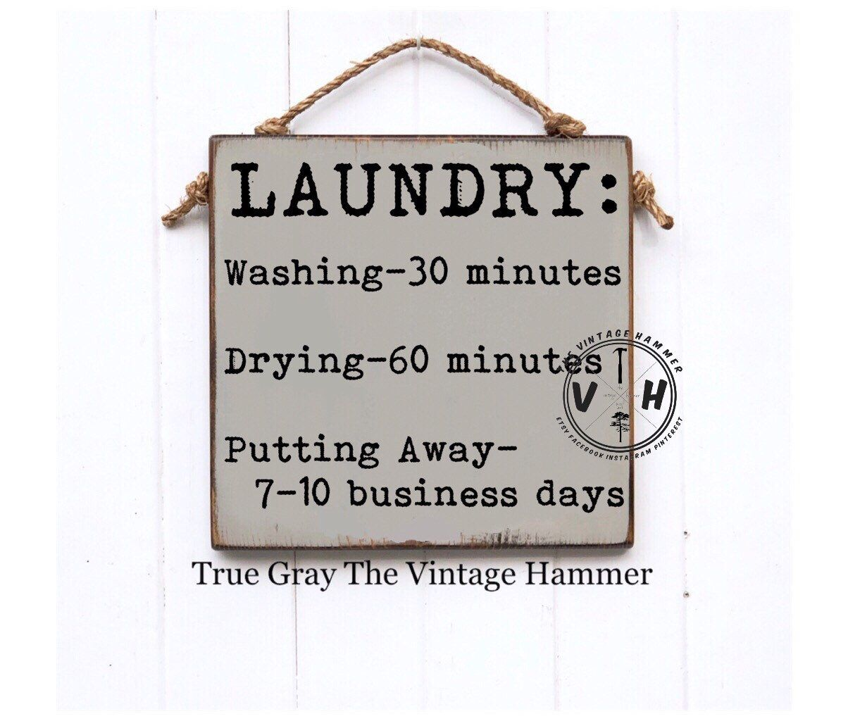 Laundry Sign Laundry Laundry Room Farmhouse Sign Wood Sign
