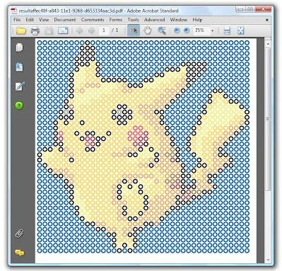 Perler bead art pattern generator - turn any image into printable ...