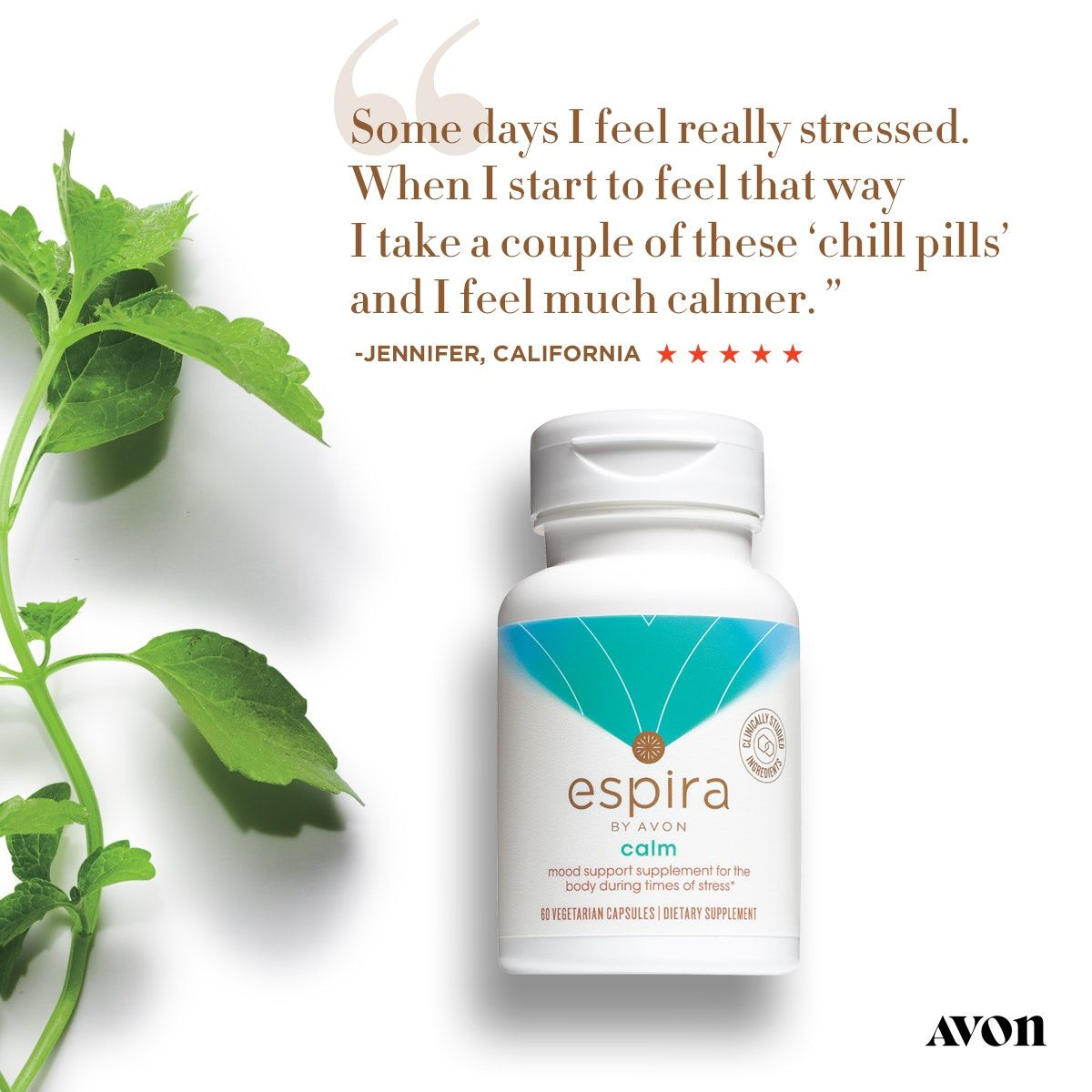 OPTIMIZE YOUR OVERALL HEALTH AND WELLBEING Avon, Calm