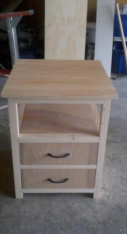 Trendy pallet furniture bedroom night stands stains 33+ ideas #palletbedroomfurniture