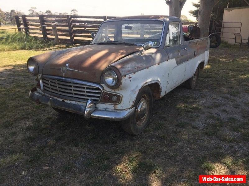 1959 Standard Vanguard ute Phase 3not Holden Ford chev or Morris ...