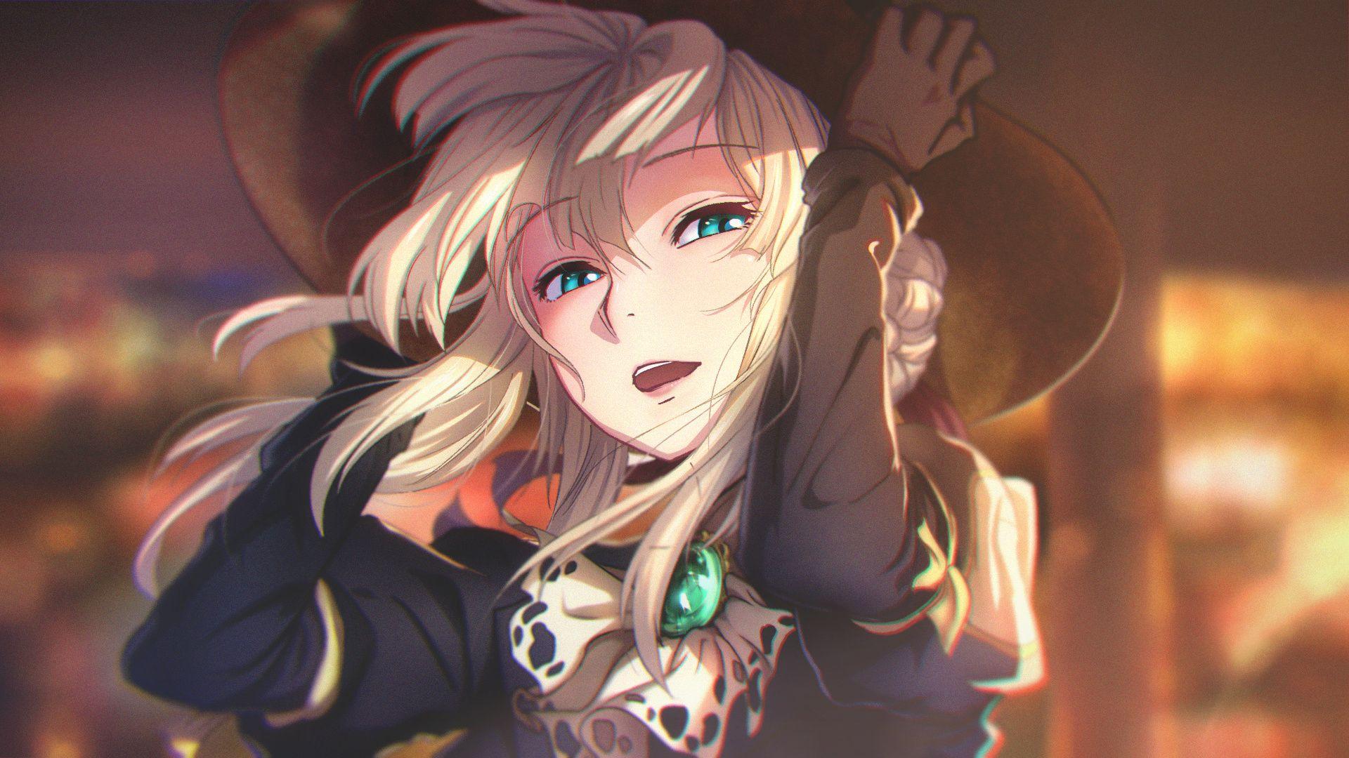 Violet Evergarden 캐릭터 아트, 그림, 일본만화
