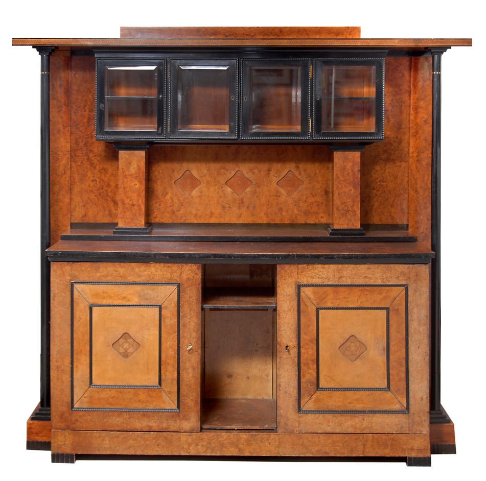 joseph maria olbrich buffet c 1905 jugendstil art nouveau pinterest jugendstil m bel. Black Bedroom Furniture Sets. Home Design Ideas